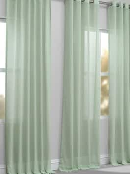 Solid Sheer Curtains