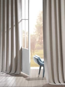 Signature Faux Linen Blackout Curtains