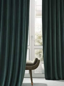 Signature Plush Velvet Hotel Blackout Curtains