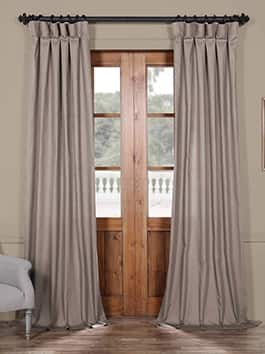 Solid Cotton Curtains