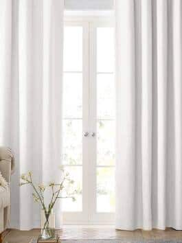 Heavy Linen Textured Curtains