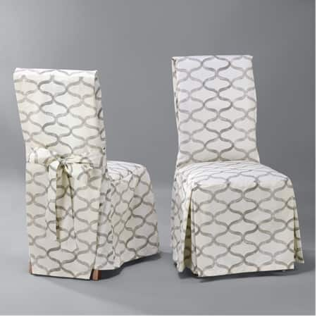 Custom Printed Cotton Twill Chair Covers