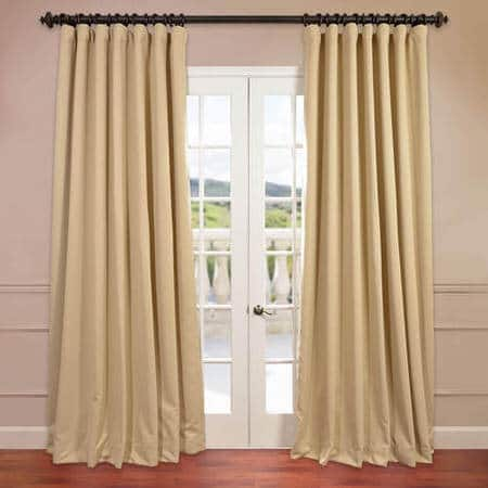 Biscotti Extra Wide Blackout Curtain