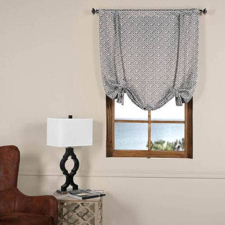 Cobblestone Taupe Blackout Tie-Up Window Shade