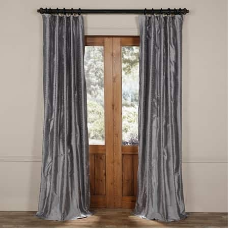 Borrache Silver Moon Silk Curtain