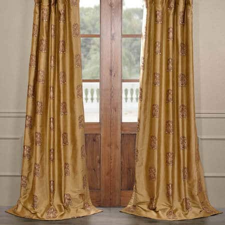 Windermere Silk Curtain