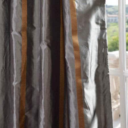 Preston Silk Taffeta Stripe Fabric
