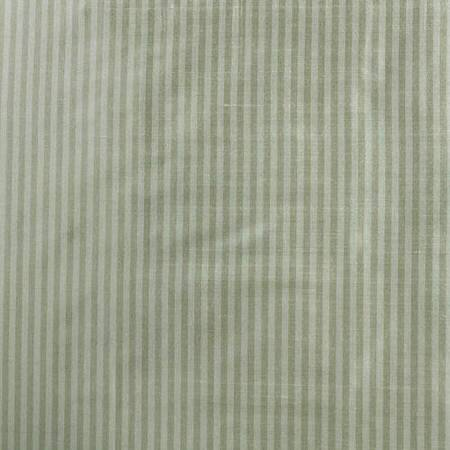 Cambridge Silver Aqua Silk Stripe Fabric