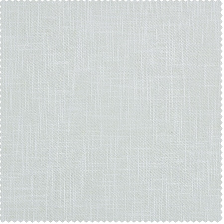 White Heavy Faux Linen Fabric