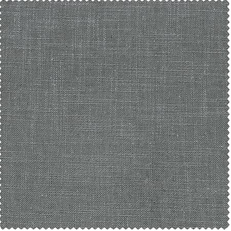 Pewter Grey Heavy Faux Linen Fabric