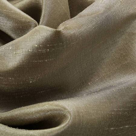 Warm Stone Vintage Textured Faux Dupioni Silk Fabric