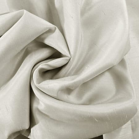 Mist Grey Vintage Textured Faux Dupioni Silk Fabric