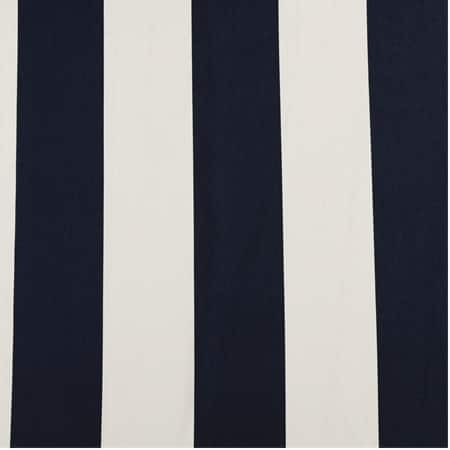 Cabana Navy Printed Cotton Fabric