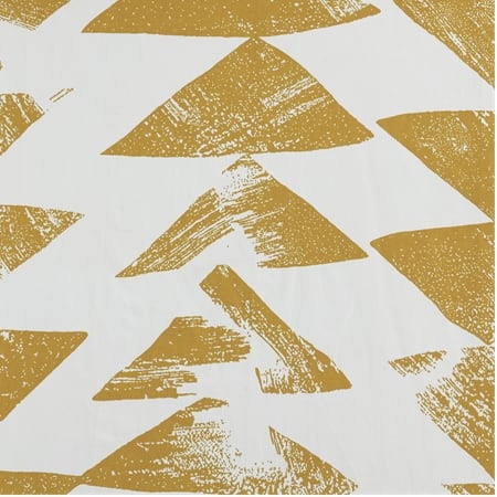 Triad Gold Printed Cotton Twill Fabric