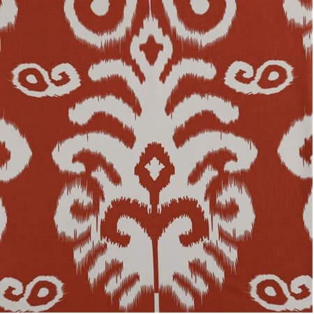 Sri Lanka Rust Printed Cotton Twill Fabric