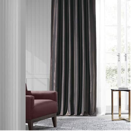 Java Faux Silk Taffeta Curtain
