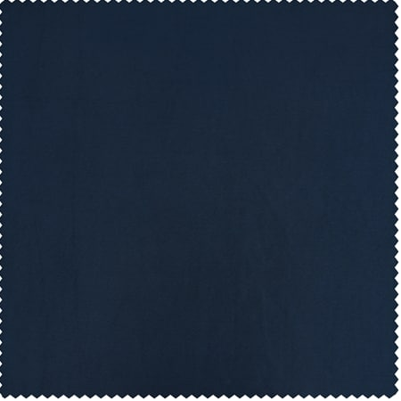 Navy Blue Faux Silk Taffeta Fabric