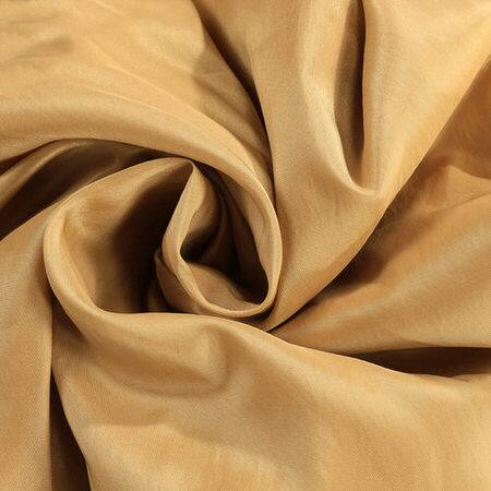 Honey Faux Silk Taffeta Fabric