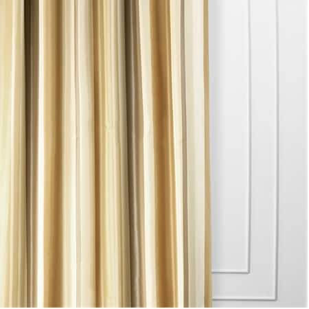 Norfolk Luxury Faux Silk Stripe Curtain