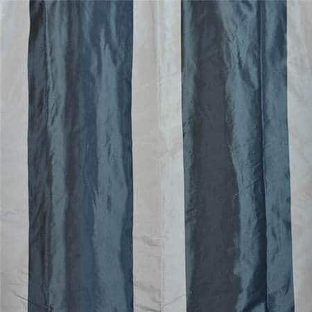 Park Avenue Faux Silk Taffeta Stripe Fabric