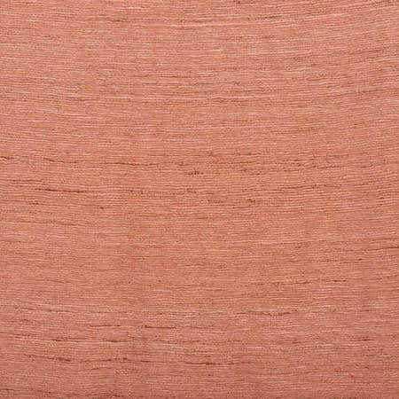 Terracotta Raw Silk Fabric