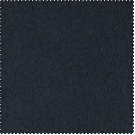 Signature Midnight Blue Velvet Fabric