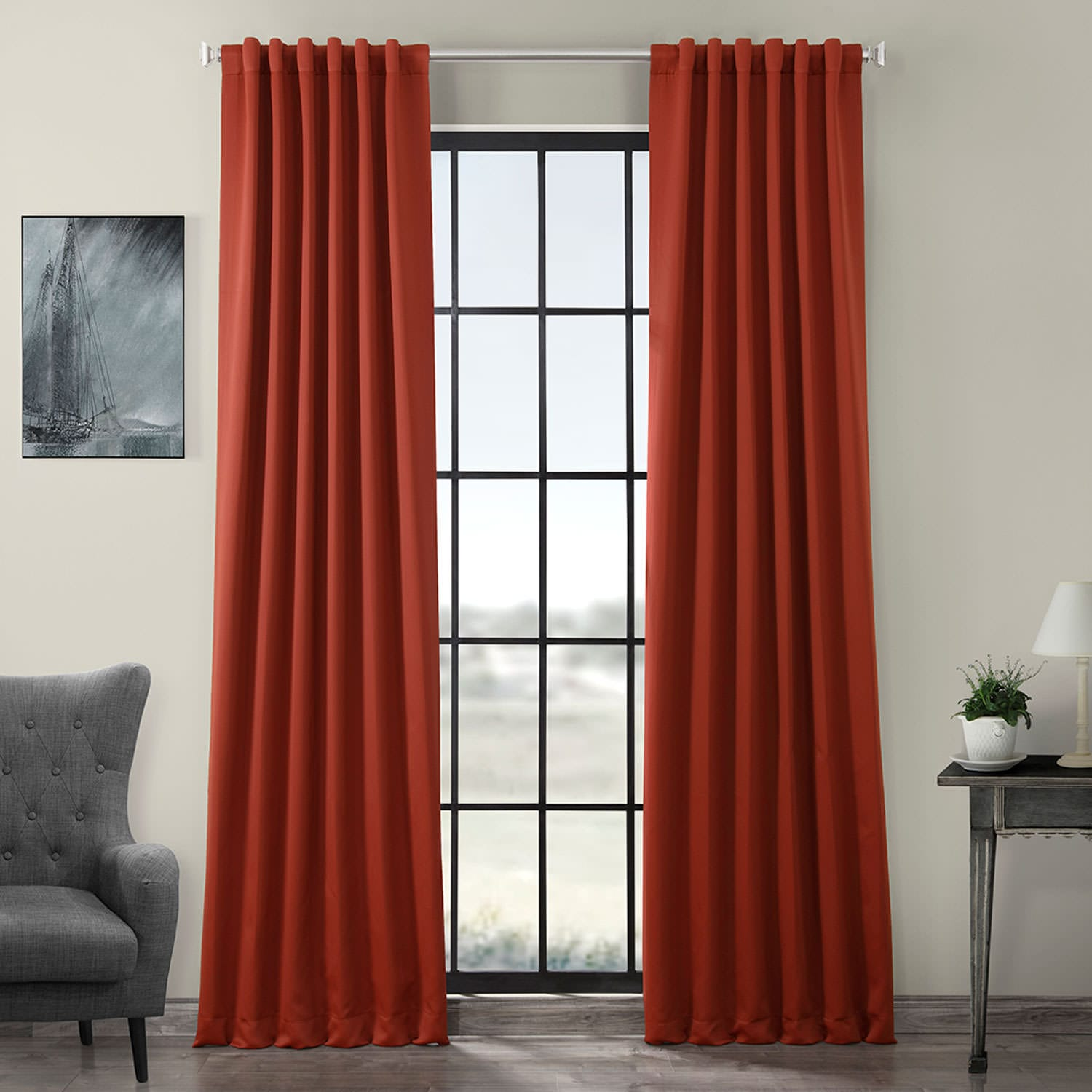 Spiced Berry Blackout Curtain