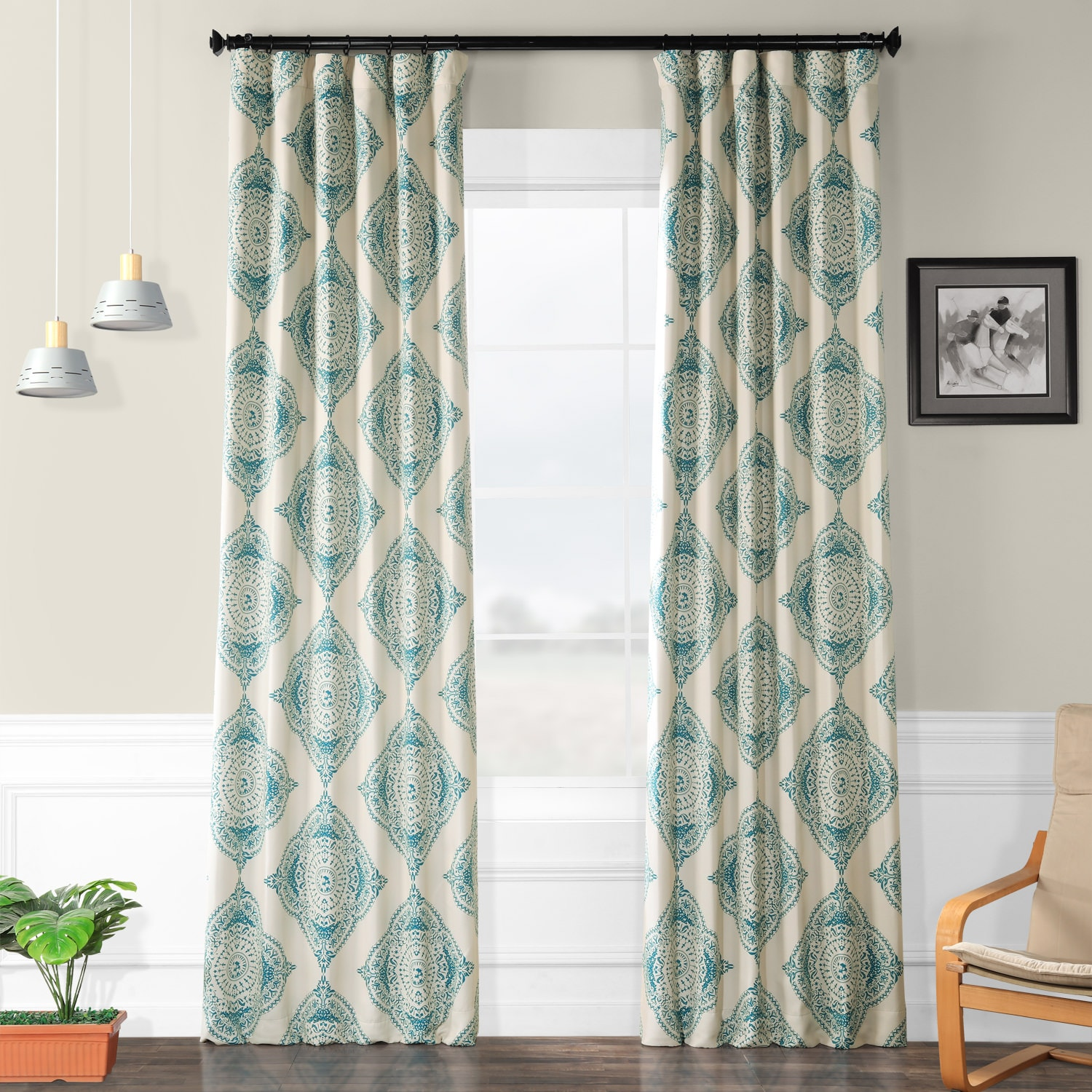 henna teal blackout curtains drapes