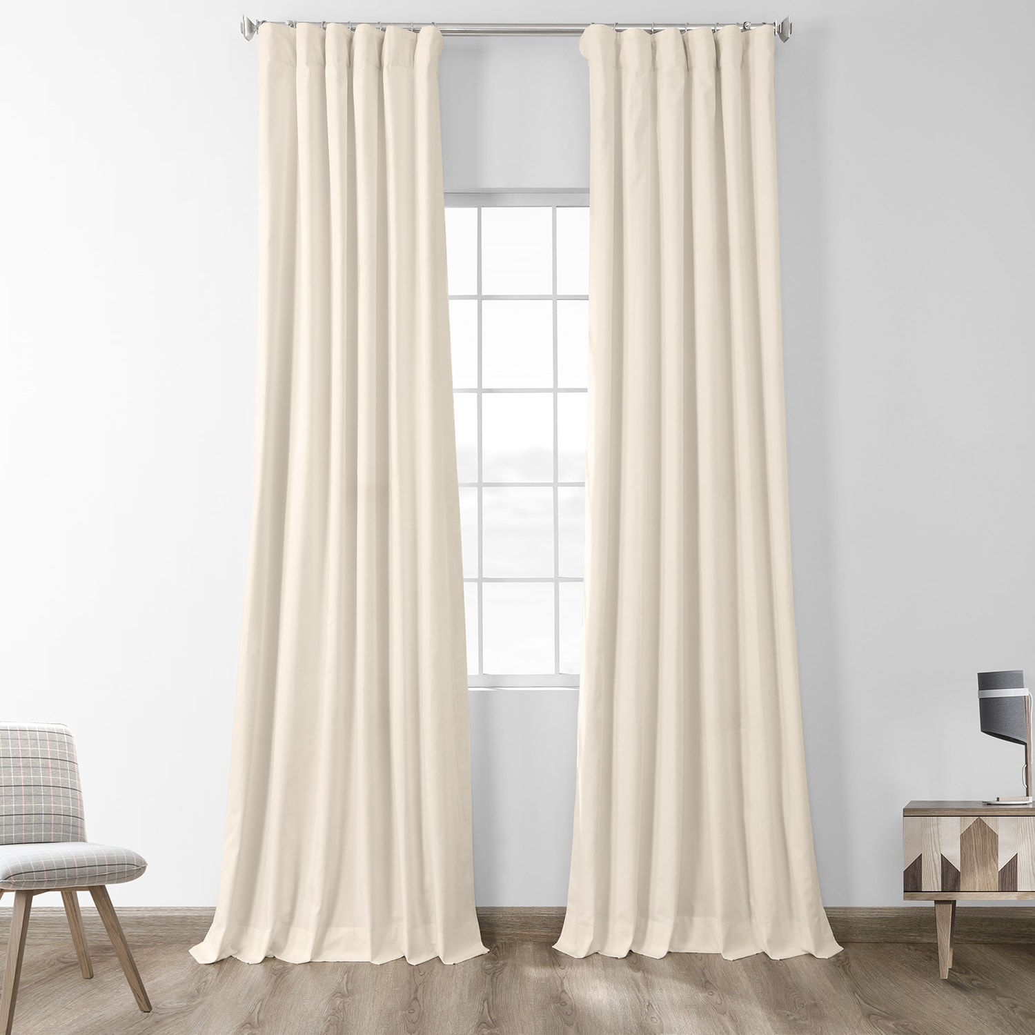 Fresh Popcorn Solid Blackout Curtain And Drapes